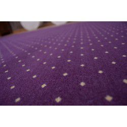 Fitted carpet AKTUA 087 violet