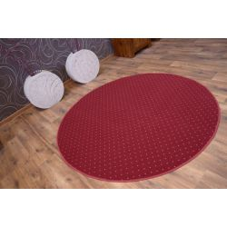 Carpet circle AKTUA 116 claret