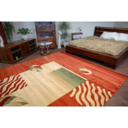 Carpet HEAT-SET TOPAZ FALE terracotta