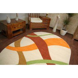 Carpet oval KASHMIR 082 kemik