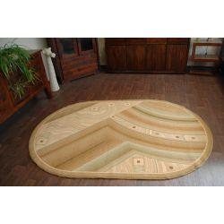 Carpet ASTRUM oval LAKONIA olive