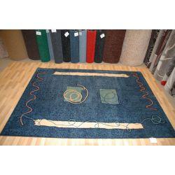 Carpet ARTE 502/542 navy blue