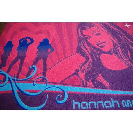 Teppich DISNEY 95x133cm HANNAH MONTANA