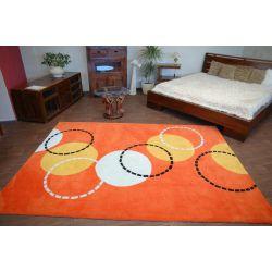 Dywan Akryl PIŁKI pomarańcz