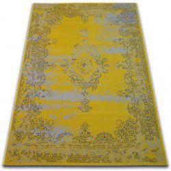 Teppich VINTAGE Rosette 22206/025 gelb
