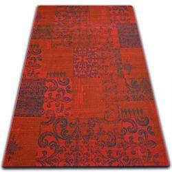 Dywan Vintage 22215/021 czerwony patchwork