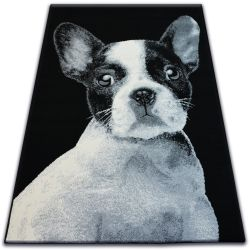 Carpet BCF FLASH 33327/190 - French Bulldog
