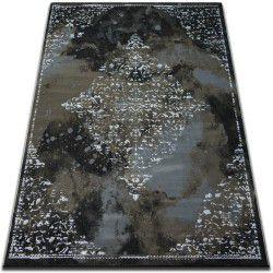 Ковер VOGUE 478 черный/коричневый