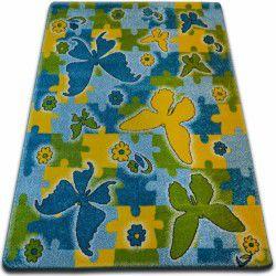 Килим KIDS метелик синій C429