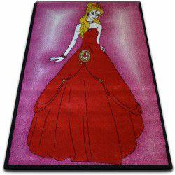 Килим KIDS Принцеса рожевий C425
