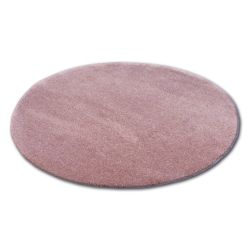 Tapete redondo SHAGGY MICRO cor de rosa