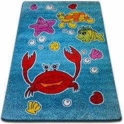 gyerekek szőnyeg Óceán kék C424