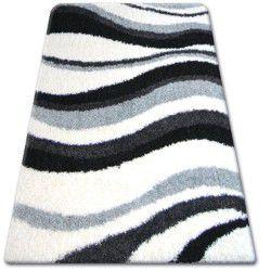 Koberec SHAGGY ZENA 2490 bílý / šedá