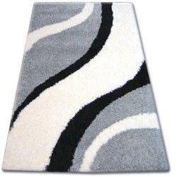 Carpet SHAGGY ZENA 3182 grey / white