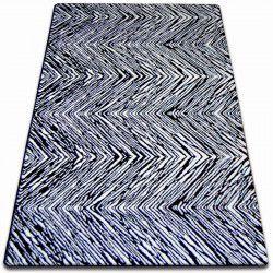 Alfombra SKETCH - F754 blanco/negro - Zigzag