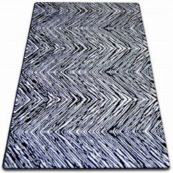 Sketch szőnyeg - F754 fehér/fekete- Cikcakk