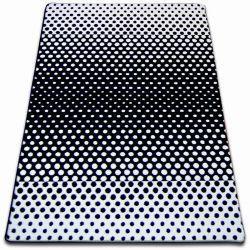 Sketch szőnyeg - F762 fehér/fekete- Pontok