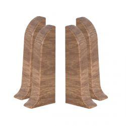 Baseboard End Caps PVC 2pcs. (L+R) SMART 118