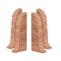 Baseboard End Caps PVC 2pcs. (L+R) SMART 543