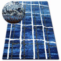 Tapis SHADOW 9359 bleu / blanc