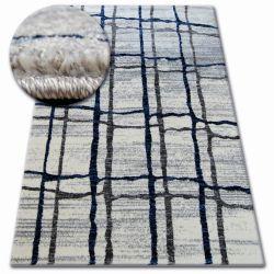 Teppich SHADOW 9359 weiß / blau