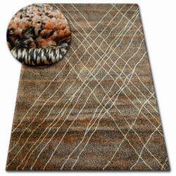 Tapis SHADOW 9367 marron / rouillé