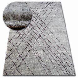 Tapis SHADOW 9367 gris / lilas
