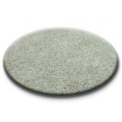 Teppich rund SHAGGY 5cm grau