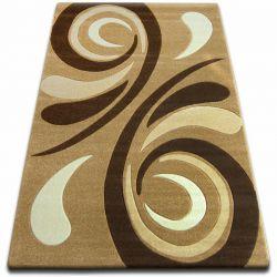 Carpet FOCUS - 8695 beige WAVE cappuccino