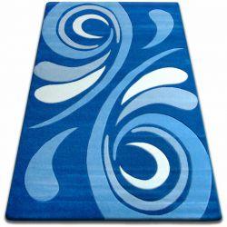 Teppich FOCUS - 8695 blau WELLE