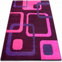 Koberec FOCUS - F240 fialový čtverce