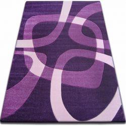 Koberec FOCUS - F242 tmavě fialová kvadrát čtverec