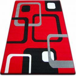 Килим FOCUS - F240 червоний квадрати