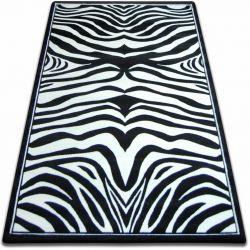 Teppich FOCUS - 9032 ZEBRA schwarz und weiß