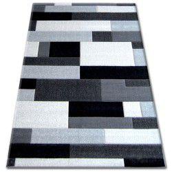 Tapis PILLY H201-8403 - noir/argentin