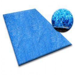 Koberec metraz SHAGGY 5cm modrý