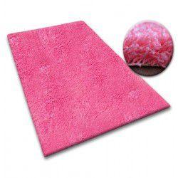 Килим Ковролін SHAGGY 5 см рожевий