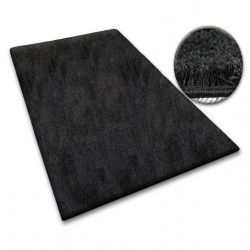 Carpet - wall-to-wall SHAGGY 5cm black