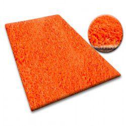 Passadeira SHAGGY 5cm cor de laranja