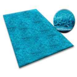 Shaggy szőnyeg 5cm türkiz