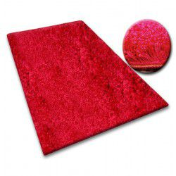 Carpet - wall-to-wall SHAGGY 5cm maroon