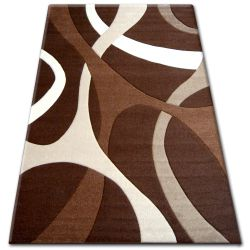 Alfombra PILLY 7848 - chocolate/beige