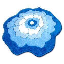 Килим дитячий HAPPY C273 квітка синій