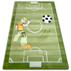 Килим дитячий HAPPY C225 зелений футбольне поле