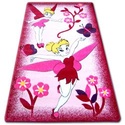 Килим детски HAPPY C224 розово фея