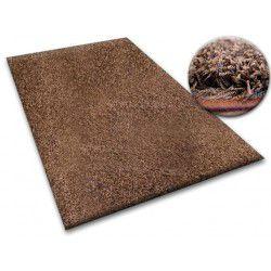 Ковролин SHAGGY 5 см коричневый