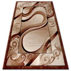Килим heat-set KIWI 4622 коричневий