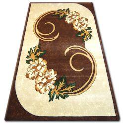 Carpet heat-set PRIMO 9945 brown