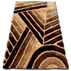 Carpet SHAGGY SOFT - 3D TY131 brown