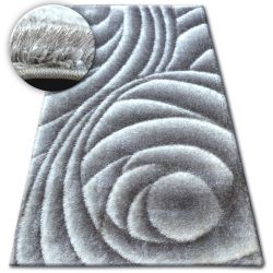 Carpet Shaggy SPACE 3D B217 grey